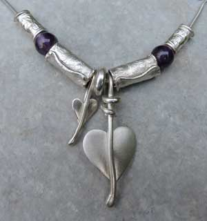 Amethyst-heart-necklace