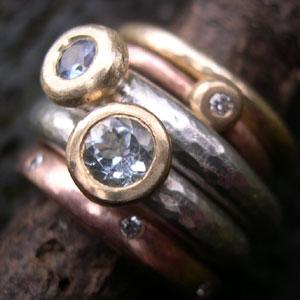 Hawaiian Wedding Rings Sets 77 Ideal Handmade engagement rings